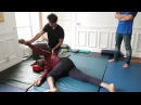 ADVANCED THAI MASSAGE DEMO WITH CHANCE KANFOUSH AT JAIDEE THAI MASSAGE SCHOOL