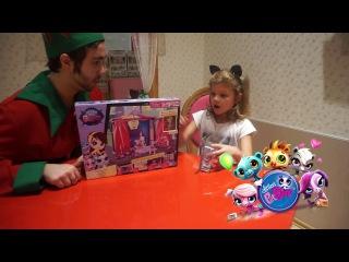 Детский блог, канал. Распаковка игрушки. Литл Пет Шоп.littlest pet shop.Hamleys магазин в Мос...