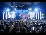 Taylor Swift - Favorite HighLong Notes