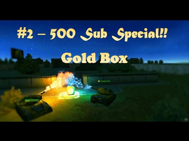 Tanki online 500 Sub Special Epic Gold Box Tanki online 500 Подставка для особых случаев Epic Gold Box