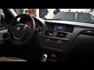 Прослушка аудиосистемы BMW X3 тест микрофонов