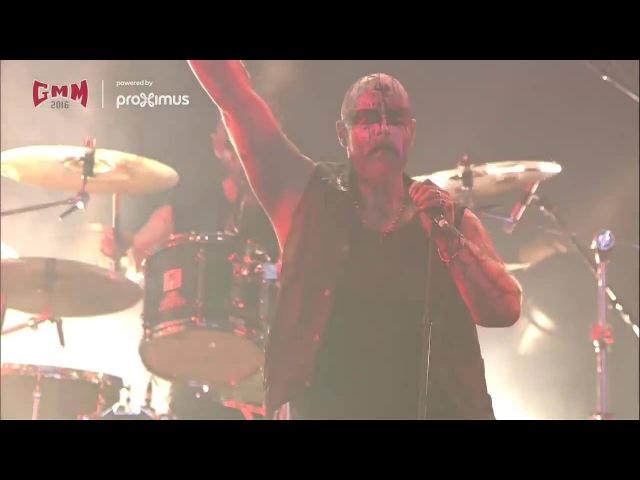 Enthroned - Live Graspop 2016 (Full Show HD)