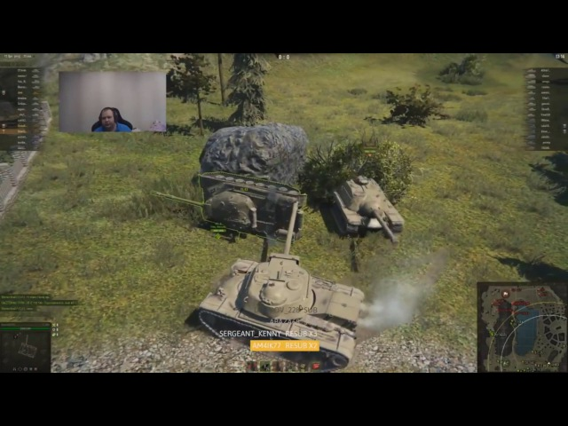 Как Ангелос учил свою девушку в World Of Tanks играть.