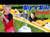 Slip and Slide Water Baseball