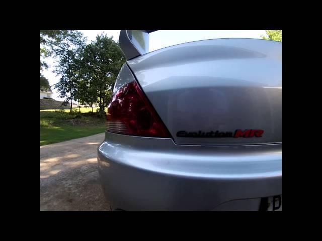 2006 Mitsubishi evolution MR SE. Wide body voltex