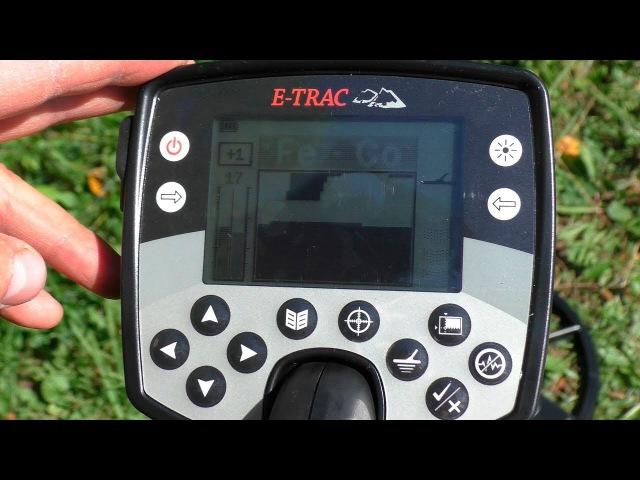 Обзор металлоискателей. Minelab Explorer E-Trac 10
