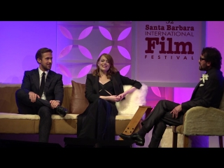 SBIFF 2017 - Ryan Gosling Emma Stone Call Each Other Emsies Rysies