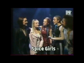 Spice girls @ mtv hanging out 17.04.1996