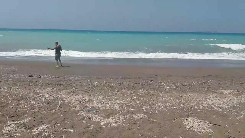Безумно красивое и неспокойное Эгейское море