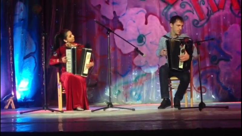 Илона Туаева и Алик Джикаев
