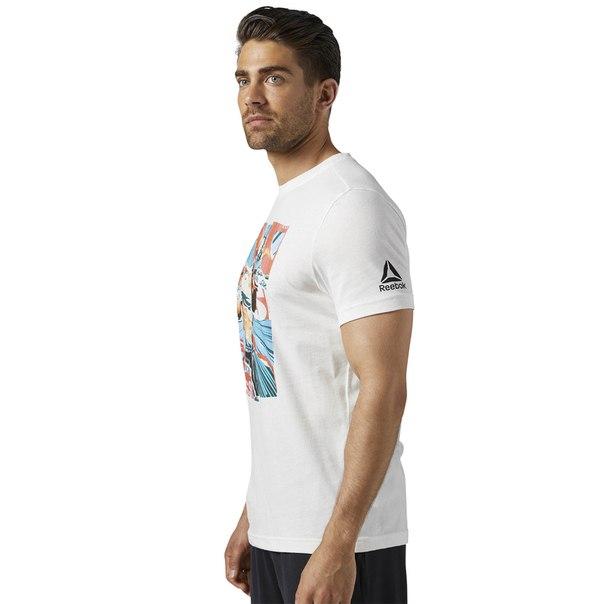 Спортивная футболка Reebok CrossFit Pukie Collage Graphic