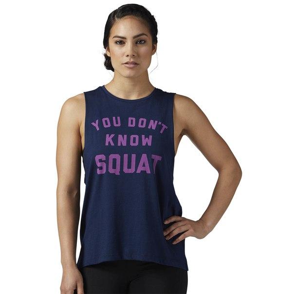 Спортивная майка Dont Know Squat