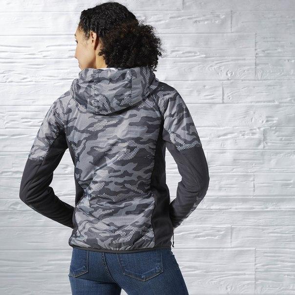 Утепленная куртка-анорак Tough Fitness Camo Quarter Zip Jacket