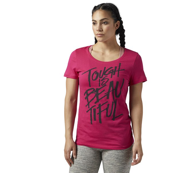 Спортивная футболка Tough Is Beautiful