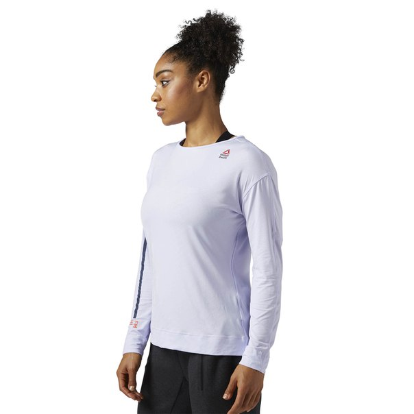 Компрессионная футболка с длинным рукавом Reebok CrossFit Jacquard