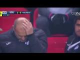 Тренеру футбольной «Тулузы» Паскалю Дюпра прилетел в голову бумажный самолетик, и он чуть не умер.