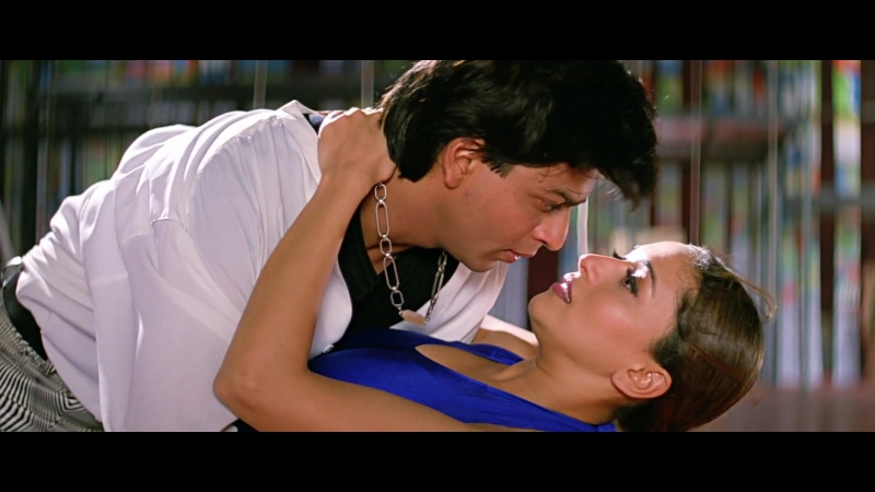 ♫Сумасшедшее сердце / Dil To Pagal Hai - Are Re Are♫ Шахрукх Кхан и Мадхури Диксит (Retro Bollywood)