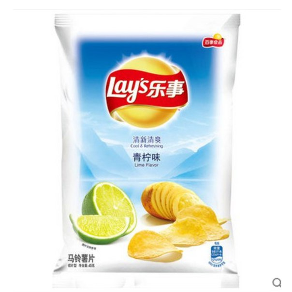 Чипсы со вкусом лайма https://ru.aliexpress.com/store/product/Potato-chips-Lime-flavor-1-pack-45-grams-Food-Delicious-Snack-Gift-Free-shipping-Chinese-food/1708393_32626257168.html?detailNewVersion=&categoryId=200003573