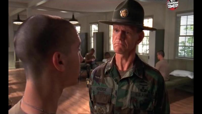 Армия сделает из тебя идеального солдата (сериал: Малкольм в центре внимания, сезон 5. Риз идет в армию)