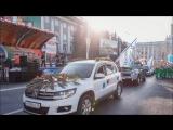Автопрокат Абсолют Авто в Кемерово на параде цветов заняли первое место.