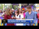 Интервью  Брентон Туэйтес и Кая Скоделарио Good Morning America (26.05.17)