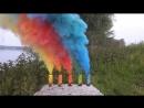 Цветной дым Smoke Fountain польского производства