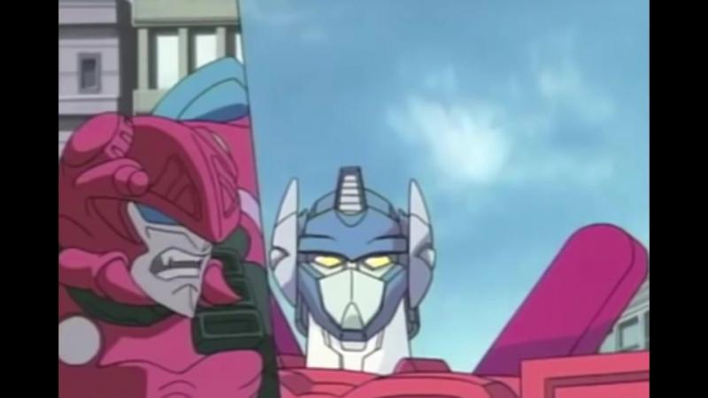 Трансформеры из 90х - скрытые роботы 1 серия.