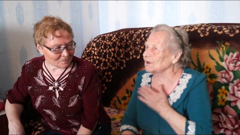 90 лет А.М. Борисковой и 95 лет Л.Ф. Щёткиной жительницам пос. Межозёрный