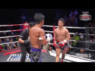 Muay Thai Fighter, 17.06.17, эпизоды одного из боёв