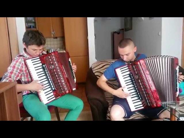 Polonez Pożegnanie Ojczyzny (M.K.Ogiński)/AKORDEON duet: G.Sznajder R. Piętka