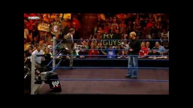 [WCOFP] Christian return and peep show with Teddy Long and John Laurinaitis WWE Smackdown 3/16/12
