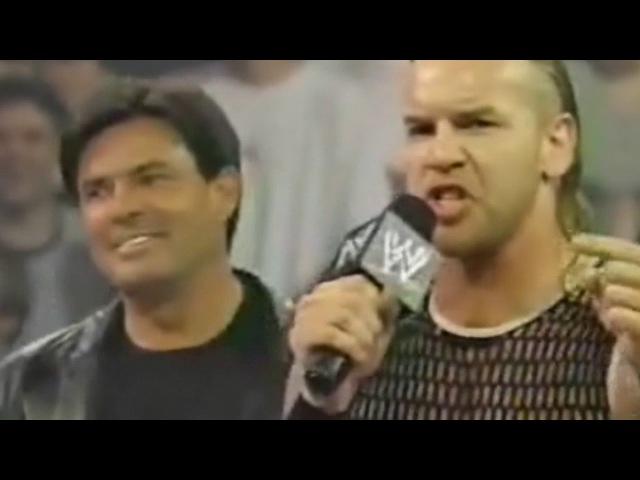 WCOFP Eric Bischoff Un Americans Shawn Michaels Segment WWE Raw 7 29 02