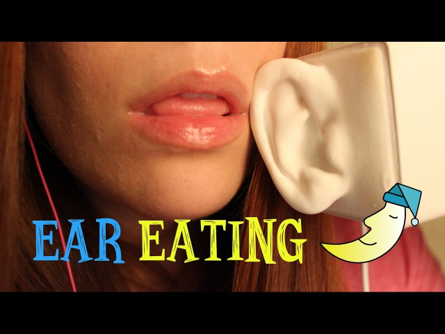 ASMR ☾ Deep Mouth Sounds ~ Ear Eating, Licking Mouth Cupping ~ Binaural and Intense - No talking