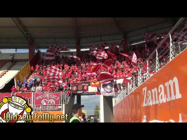 Zagłębie Lubin 0:1 Widzew Łódź (16\09\2012) [Doping Kibicow Widzewa]