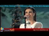 ## Idina Menzel (White Christmas) Live Performance ##