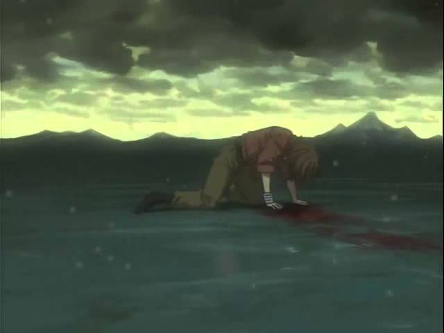 Wolf's rain - Toboe's and Quent's deaths