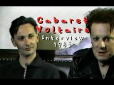 Cabaret Voltaire interview 1985