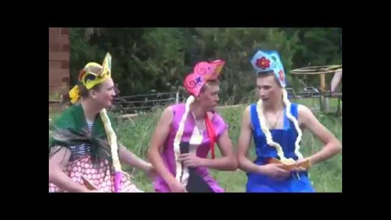 ПАРОДИЯ Ах мамочка на саночках каталась я не с тем..parody to the Russian little girls