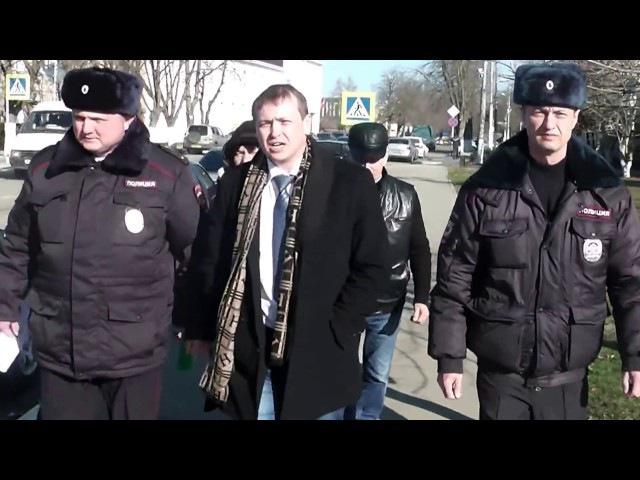 День Сурка в Гулькевичи. Задержание особо опасного юриста Сергея Земцова. Работ ...