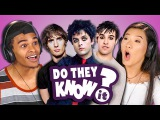 DO TEENS KNOW 2000s POP PUNK MUSIC (REACT Do They Know It)