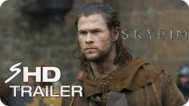 Skyrim (2018) - Movie Trailer 1 Chris Hemsworth, Sam Worthington (Fan Made)