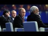 ПУТИН, МОДИ, ДОДОН и КЕРН на Пленарном заседании ПМЭФ 2017   ПУТИН ИНФО