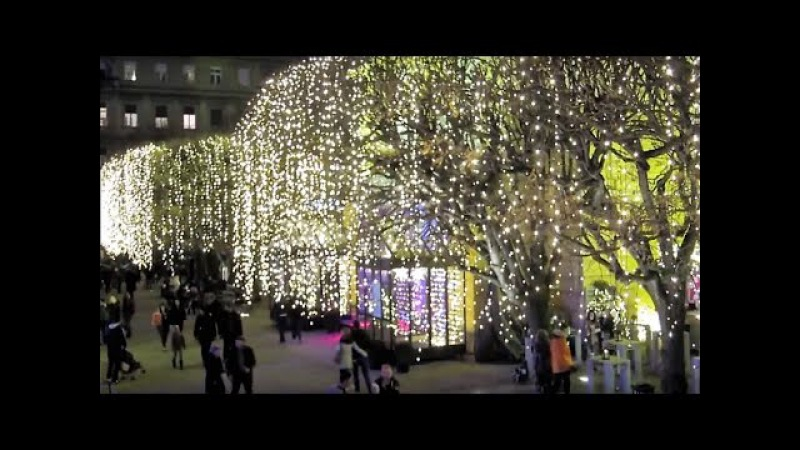 Merry Christmas and Happy New Year 2017 Zagreb Croatia - Advent Best Christmas Market 2016 - 2017