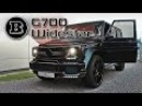 HELL YEAH! Brabus B63 G700 Widestar - ride, revs, acceleration, garages...