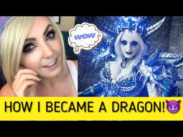 HOW TO MAKE SINDRAGOSA: Cosplay Creation Time Lapse Walk Through Jessica Nigri