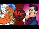PAPYRUS vs ROBBIE ROTTEN! (Undertale vs Lazy Town) Cartoon Fight Club Bonus Episode 6
