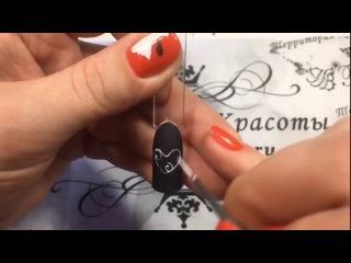 Дизайн на ногтях к 14 февраля. Виктория Коноплева.