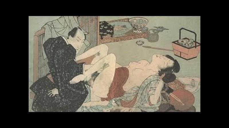 柳川重信 極楽遊 Shigenobu Yanagawa. Playing in heaven