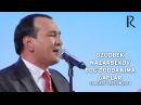 Ozodbek Nazarbekov - Bog'dodda nima gaplar | Озодбек - Богдодда нима гаплар (concert version 2014)