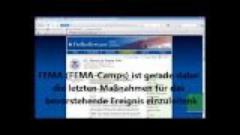 Agenda 21 - FEMA CAMPS - Mehr Beweise! Unterwasser-Särge Decken Essensrationen Vorbereitungen 2011